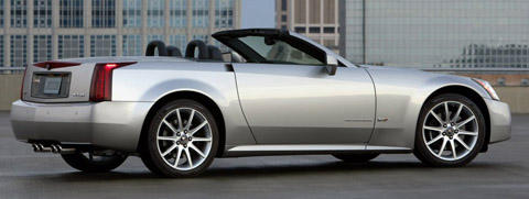 2006 Cadillac XLR-V Side View