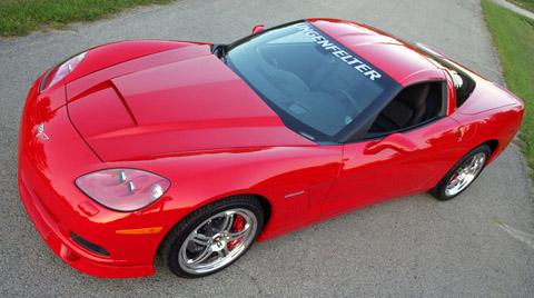 2006 Lingenfelter Commemorative Edition Corvette red side view