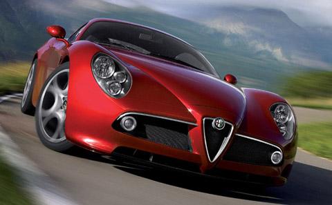 2007 Alfa Romeo 8C Competizione front view