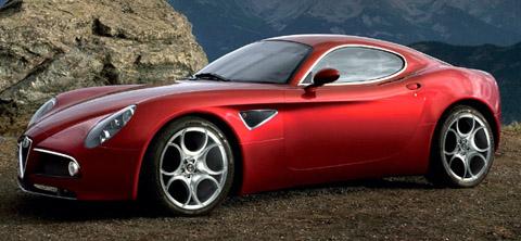 2007 Alfa Romeo 8C Competizione side view