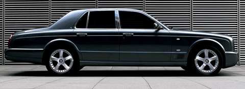 2007 Bentley Arnage T side view