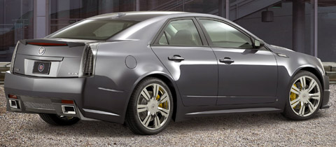 Cadillac CTS Sport back view