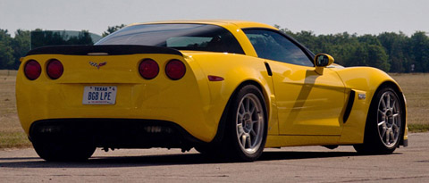 2007 Lingenfelter Corvette Z06 427 Twin Turbo Yellow