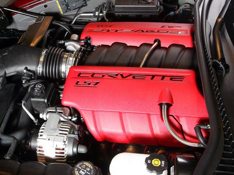 2008 Corvette 427 Special Edition Z06 engine