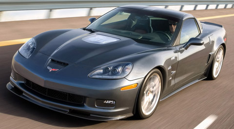 2009 Chevrolet Corvette ZR1 black