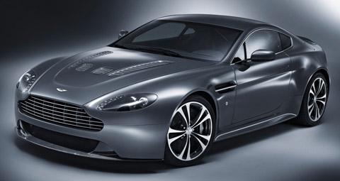 2010 Aston Martin V12 Vantage black