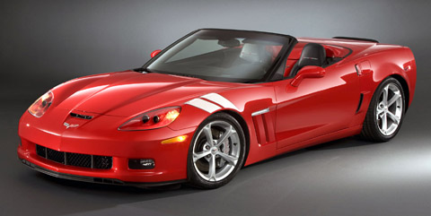 2010 Chevrolet Corvette Grand Sport front view