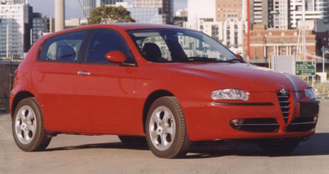 Alfa romeo 147 16 ts top speed