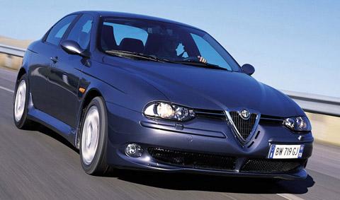 Alfa Romeo 156 GTA front view