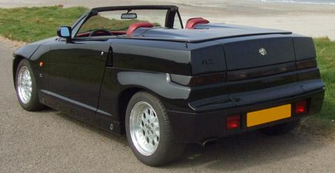 Alfa Romeo RZ black