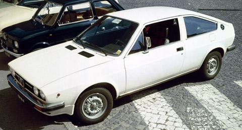 Alfa Romeo Sprint white