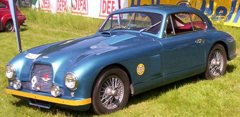 Aston Martin DB2 coupe 1951