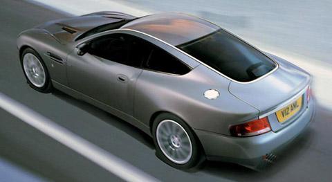 Aston Martin V12 Vanquish back view