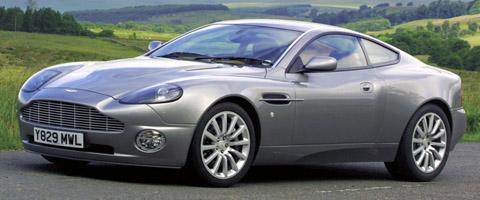 Aston Martin V12 Vanquish side view