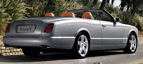 Bentley Azure T back view