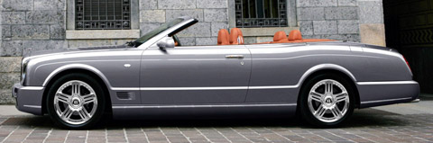 Bentley Azure T side view