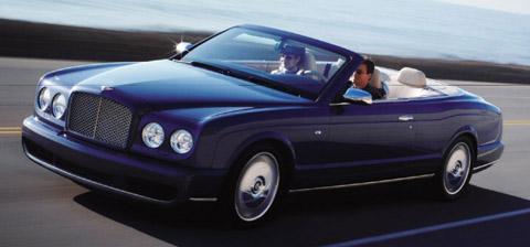 2006 Bentley Azure front view