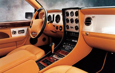 Bentley Continental T Interior