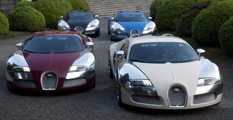 Bugatti Celebrates 100 Years at Concorso d'Eleganza Villa d'Este
