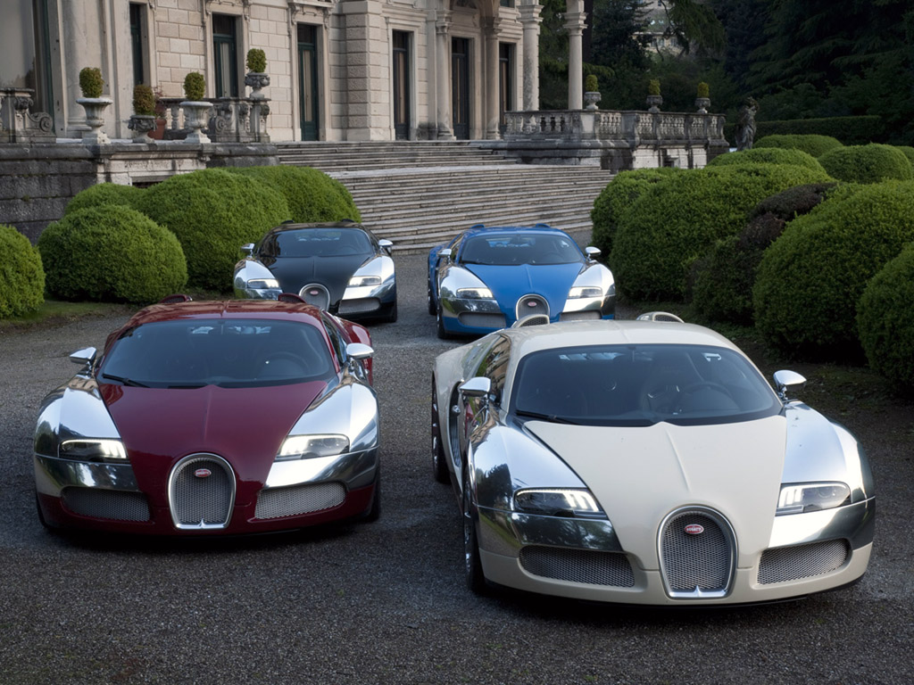 Bugatti Celebrates 100 Years At Concorso D Eleganza Villa