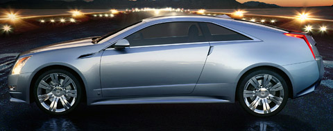 2008 Cadillac CTS Coupe Concept side view