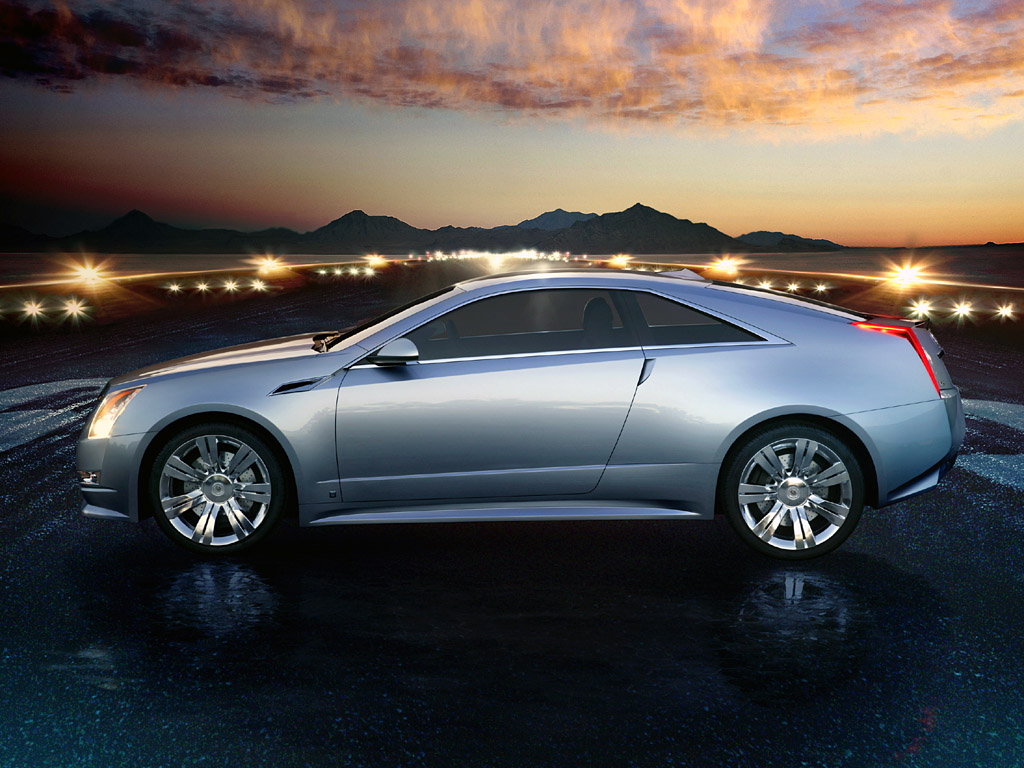 EXTREME CARS: Cadillac CTS Coupe Concept