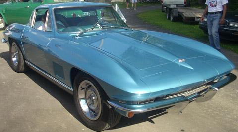 Chevrolet Corvette 2 coupe