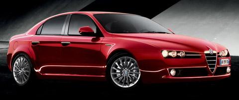 2009 Alfa Romeo 159 in red