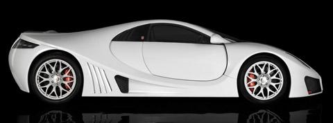 2009 GTA Spano side view