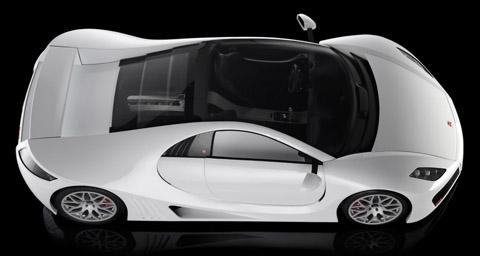 2009 GTA Spano top view