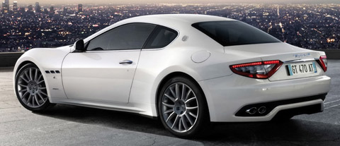 2009 Maserati Gran Turismo S Automatic back view