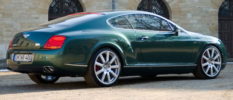 2009 MTM Bentley Continental GT Birkin Edition side back view