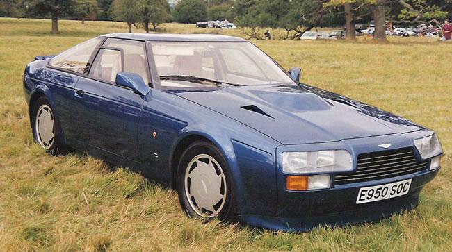 Aston Martin V8 Zagato 480jpg. The body was built at Zagato coachbuilder