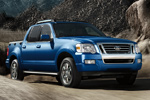 Ford Explorer Sport Trac in Blue