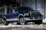 Ford F-350 in Blue