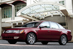 Ford Five Hundred in Red