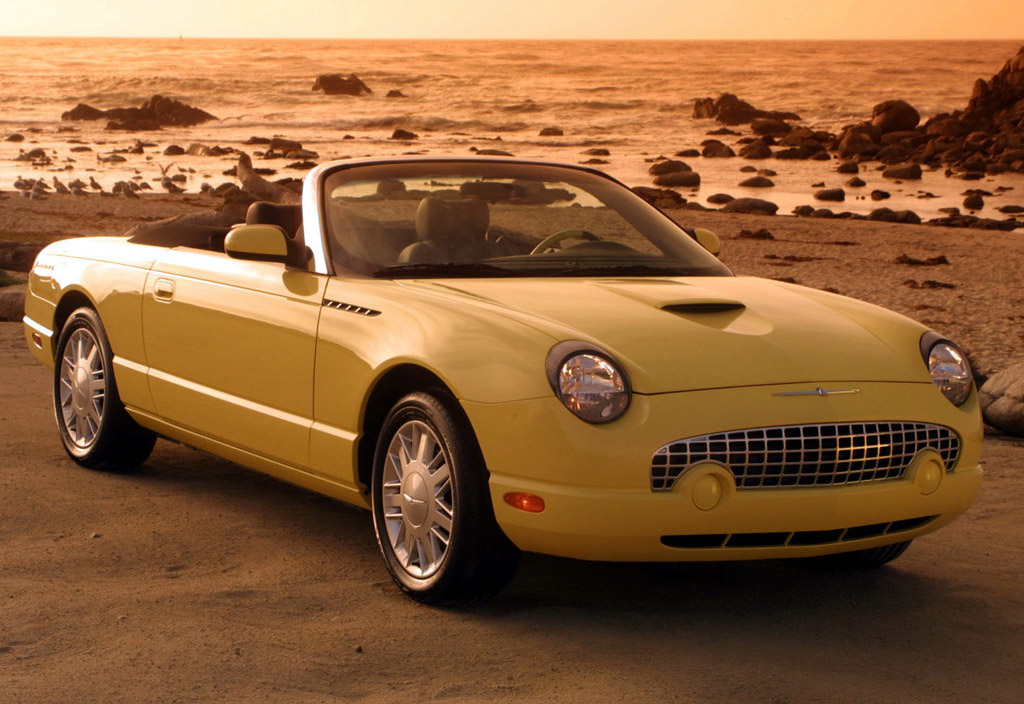 Ford Thunderbird Convertible. its Ford Thunderbird in