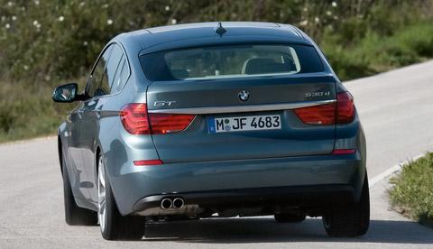 2009 BMW 5 Series Gran Turismo back view