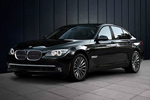 BMW 7 Series - The 750i Sedan in Black