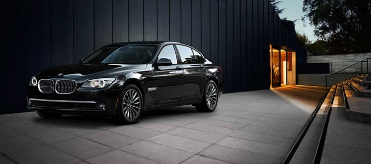 The five generations of the BMW 7-Series
