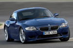 BMW Z4 M Coupe in Blue