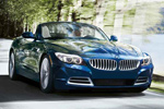 BMW M Roadster in Blue