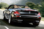 BMW M6 Convertible back view