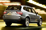 BMW X3 back view