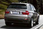 BMW X5 xDrive48i back view