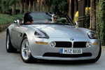 BMW Z8 front view