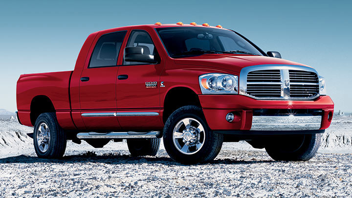 Dodge Ram 2500. Who would not faint with joy at the 5.7 liter OHV V8