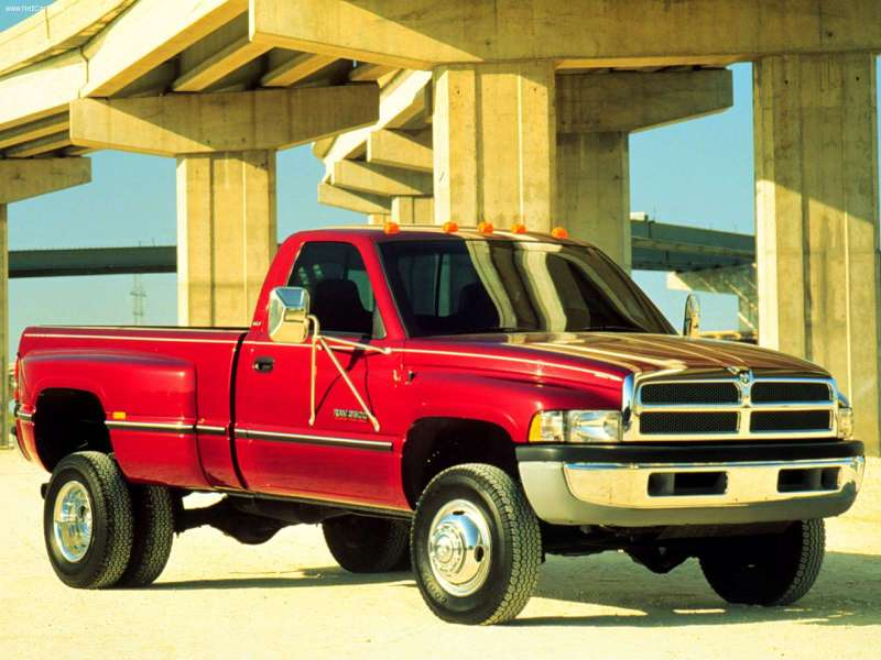 the Dodge Ram 3500 is its dual rear wheels. The Big Daddy of all Dodge