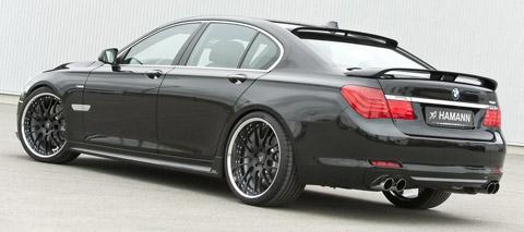 Hamann BMW 7 Series back view