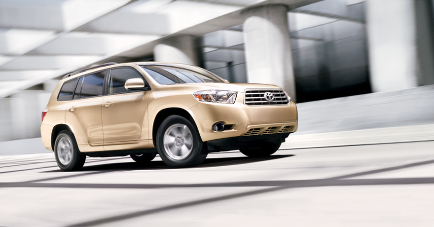 Toyota Highlander 4-Cylinder in Sandy Beach Metallic